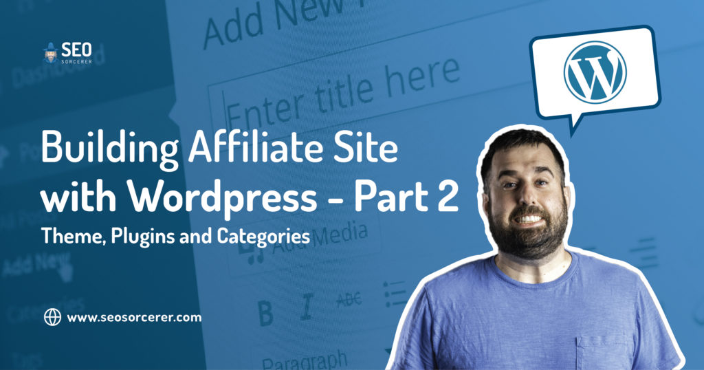 building affiliate site wordpress