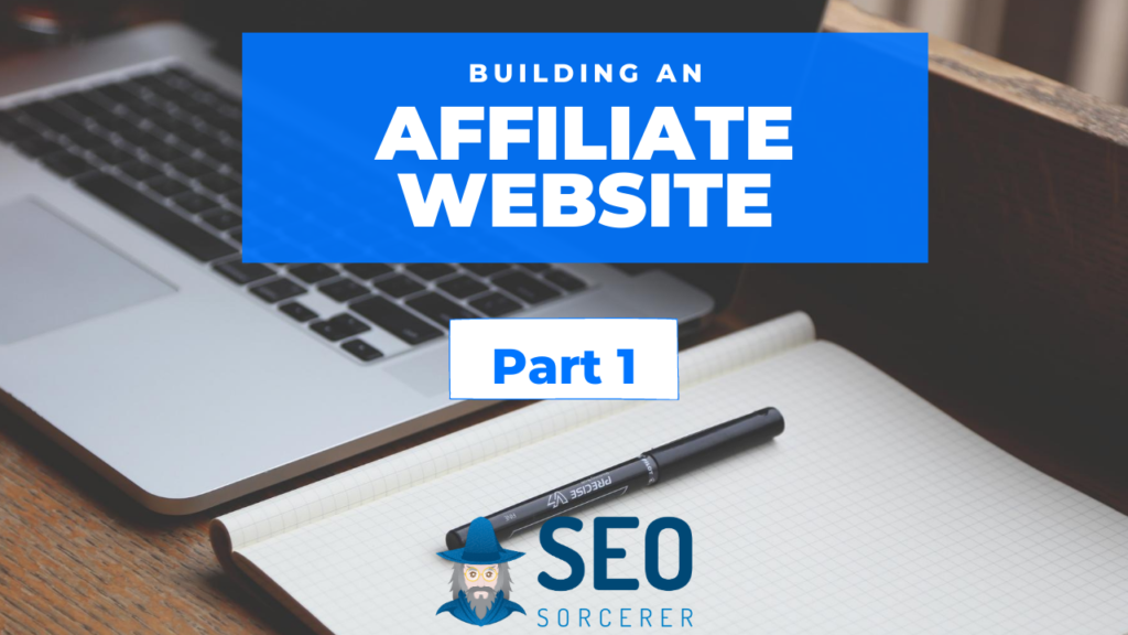building an affiliate site